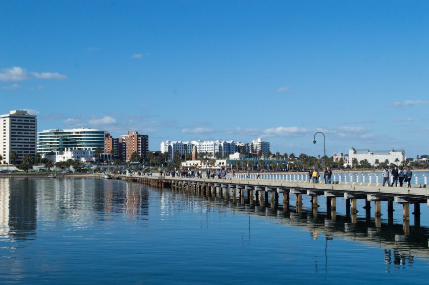 St Kilda Pier in Melbourne, Australia