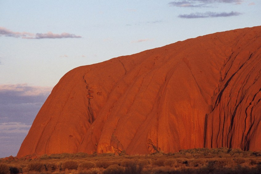 Uluru, which is still on my Australia bucket list!