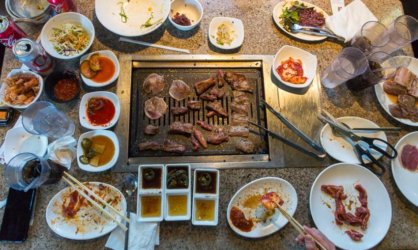 Los Angeles Restaurants: Ookook Korean BBQ