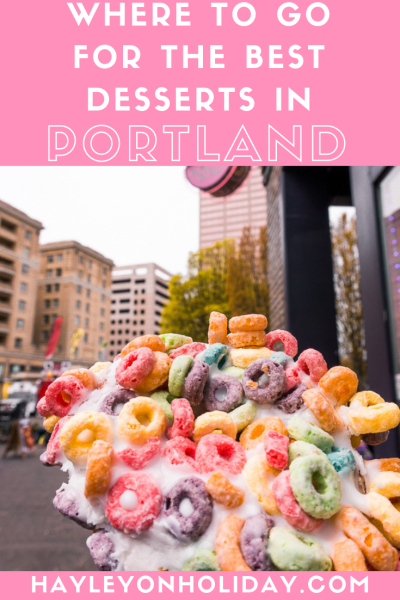 Where to find the best Portland desserts.