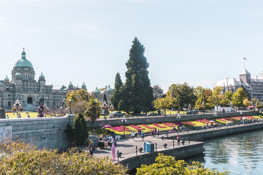 Victoria's gorgeous Inner Harbour. Check out my 24-hour guide to Victoria now!