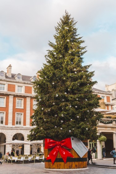 London Christmas at Covent Garden