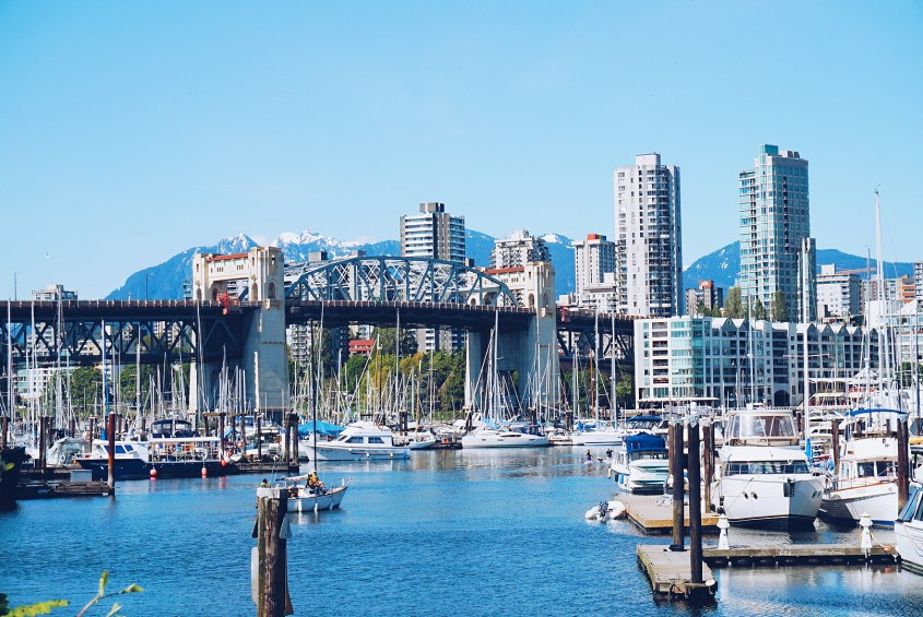 Vancouver, Canada is a great solo travel destination.