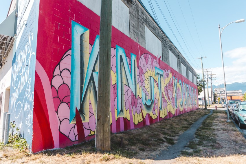 Click for my guide to the best free things to do in Vancouver, including checking out Vancouver street art.