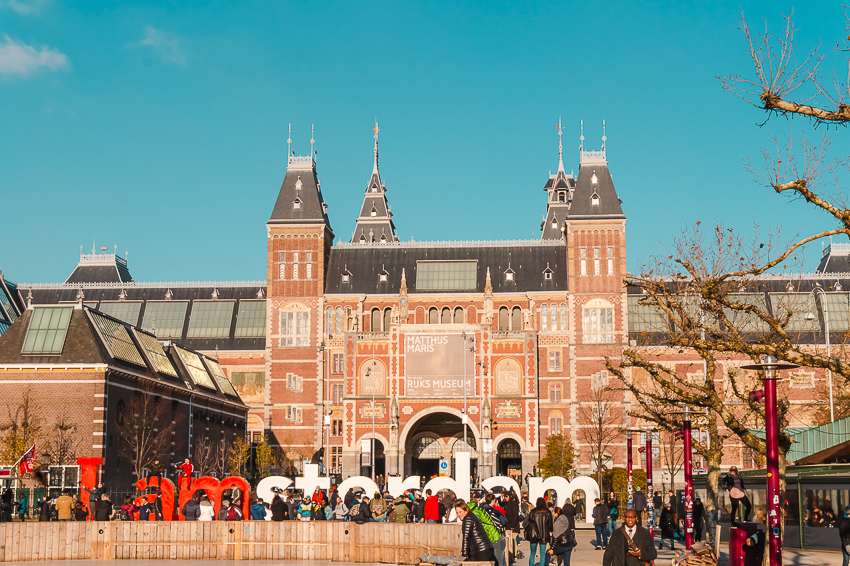 Three Days in Amsterdam: visit a museum