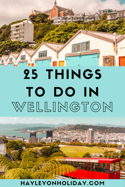 25 things to do in Wellington, New Zealand