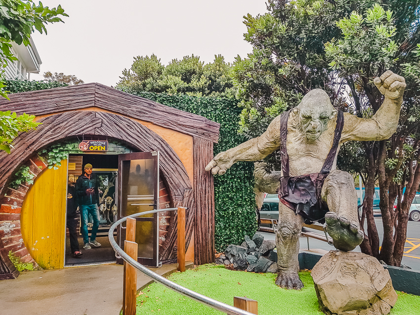 Things to do in Wellington: do a Weta Workshop tour