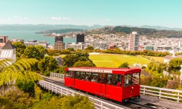 Ride the Cable Car in Wellington, New Zealand