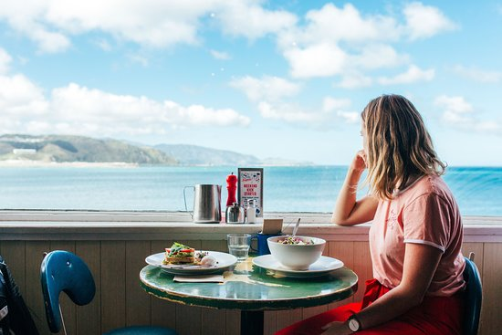 Maranui Cafe in Wellington, New Zealand