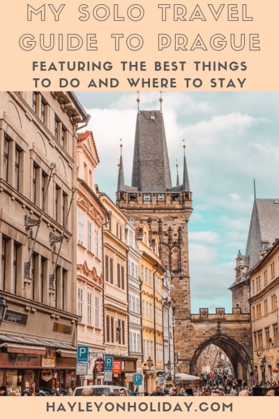 A solo travel guide to Prague, featuring the best things to do, solo travel tips for Prague and where to stay on a budget.