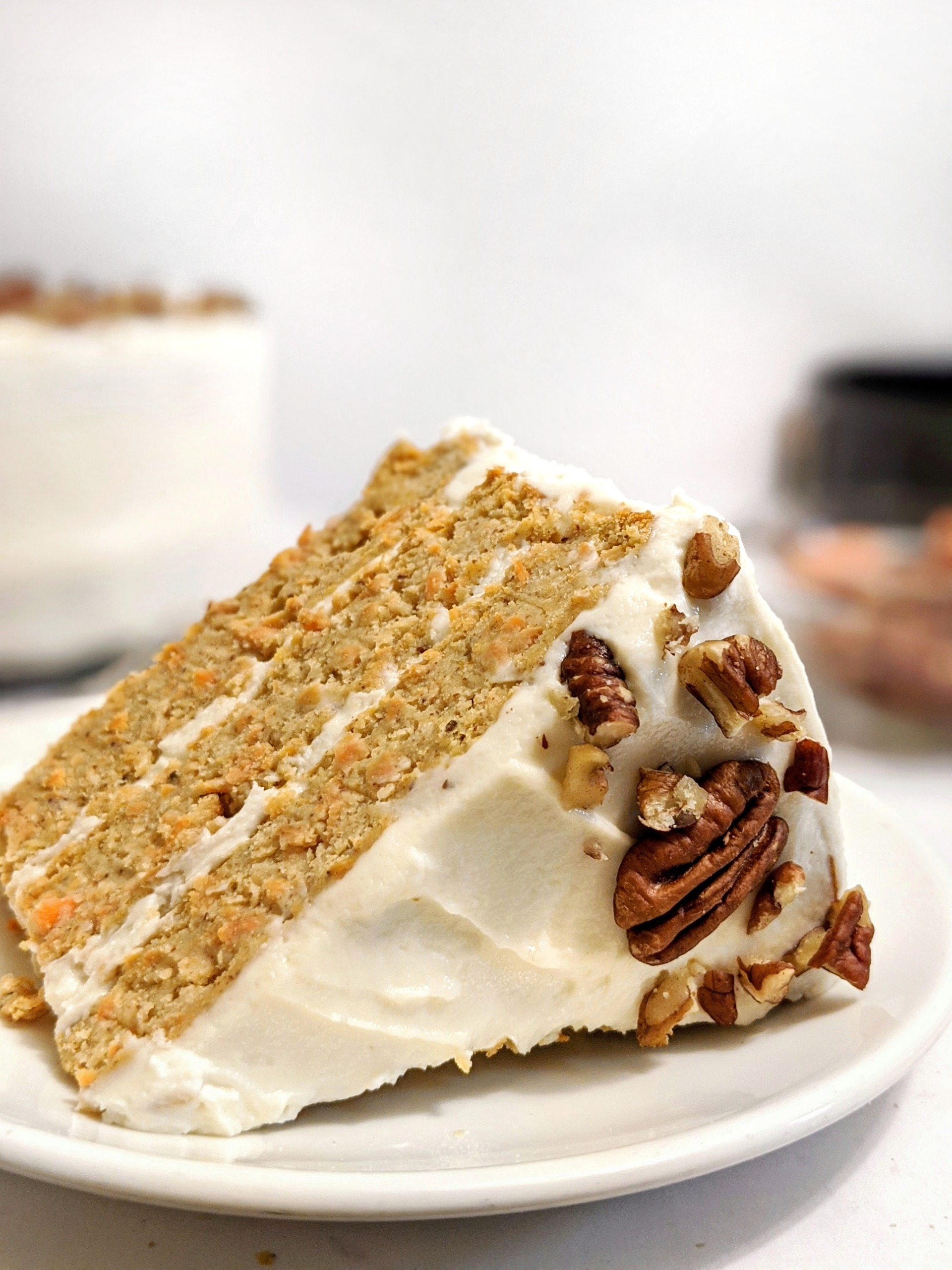 Best Darn (Healthy) Carrot Cake with Protein Yogurt ...