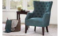 Haynes Furniture. Hannah Tufted Barrelback Arm Chair