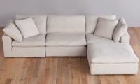 Luxe Modular Slipcover Sectional | Haynes Furniture ...