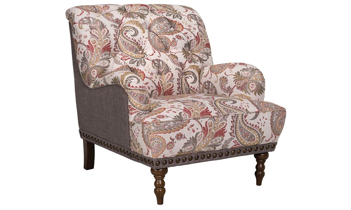 beach chair sale covers b and m tufted charles of london arm & ottoman | haynes furniture, virginia's furniture store