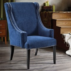 Accent Wingback Chairs Best Foldable Lawn Marcel Chair With Nail Head Trim Haynes Furniture Picture Of