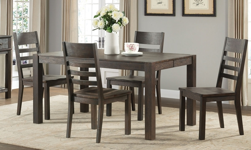 Salem Solid Acacia Dining Set Haynes Furniture Salem Solid Acacia