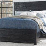 Haynes Furniture Hillsdale Villa Black King Panel Bed