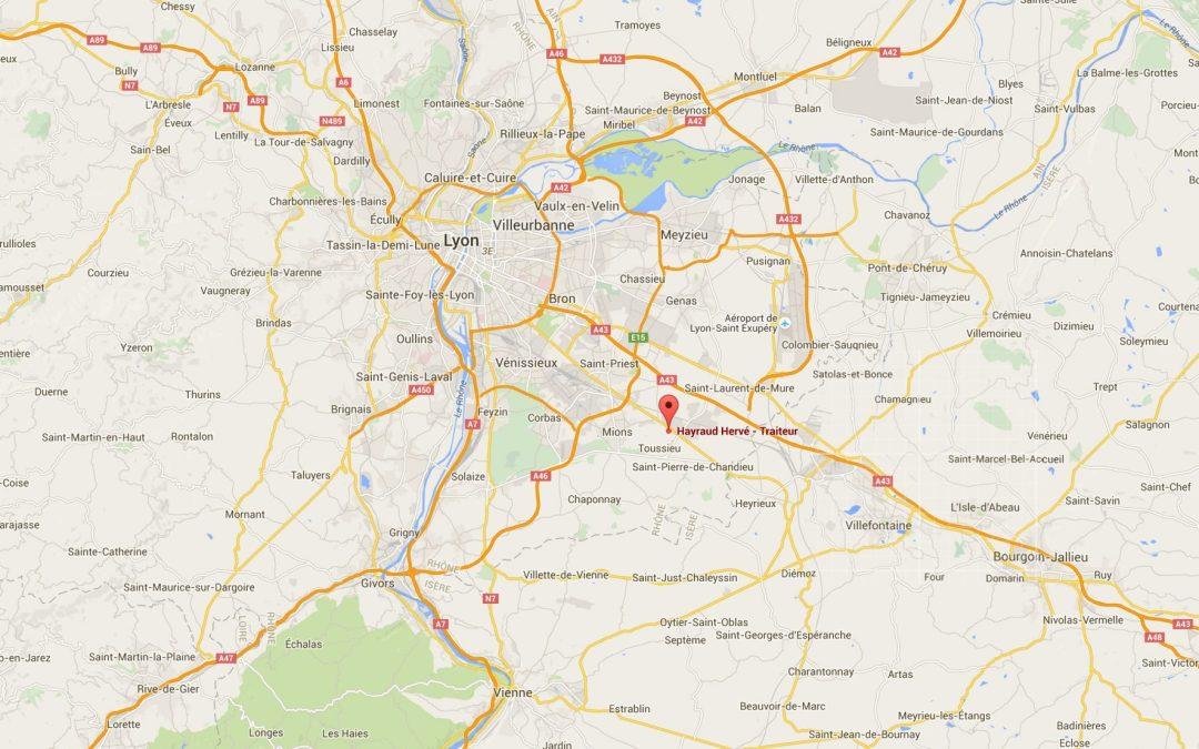 Livraison traiteur Lyon et Rhône-Alpes