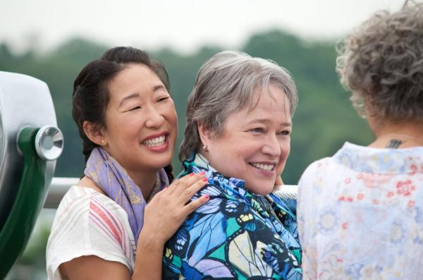 Couple and Kathy Bates Sandra Oh
