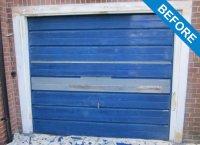 Garage Door Spraying Service - Garage Door Painting   HC Ltd