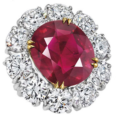 Exceptional Ruby Ring