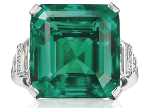 The Rockefeller Emerald