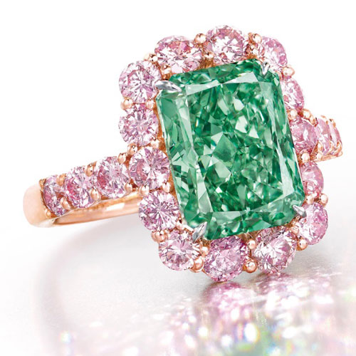 The Aurora Green Diamond