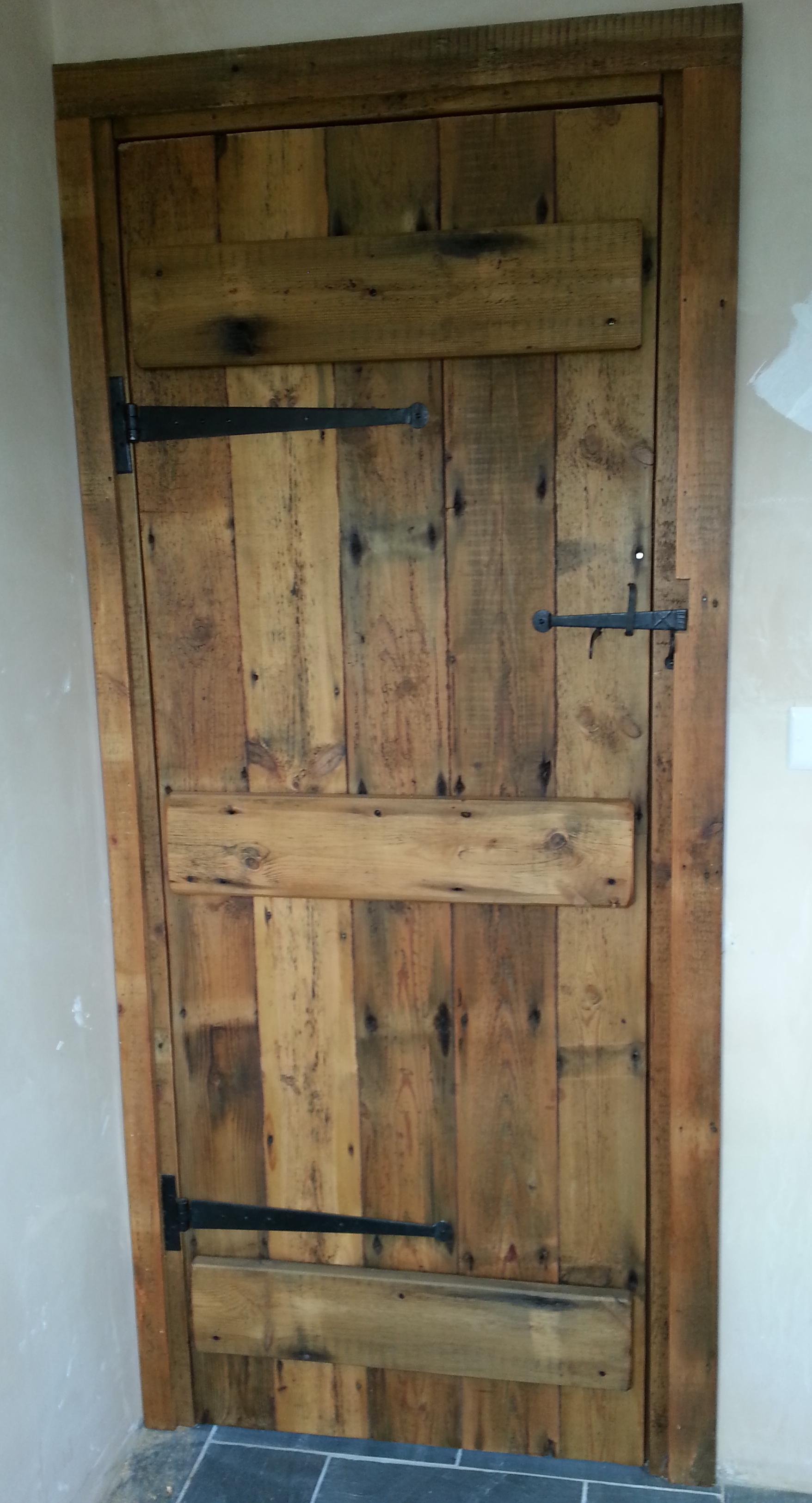 Reclaimed Timber Doors