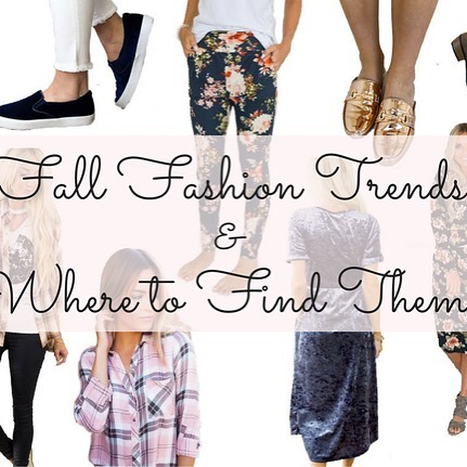 What is your favorite fall fashion trend? I am stillhellip