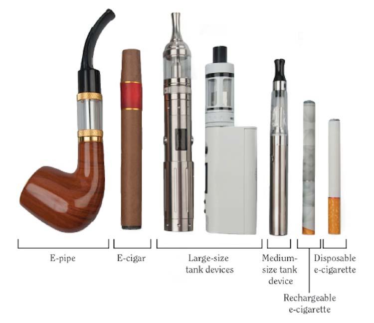 vaping and e cigarettes