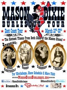 Mason Dixie Burlesque Tour