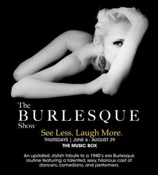 The Burlesque Show at the Borgata Casino