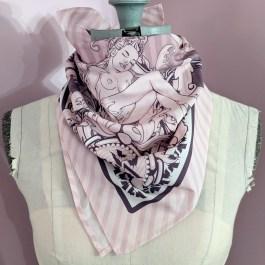 Scarf: Gems Pink