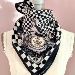 Scarf: Motorcycle Gold