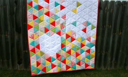 Quilt: Triangle Heart Quilt