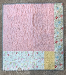 Free Motion Quilting Baby's Name