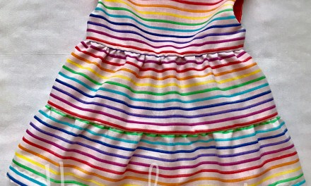 Tiered Party Dress and Diaper Cover