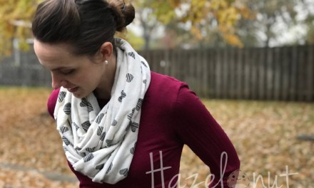 How to Make an Infinity Scarf Fast