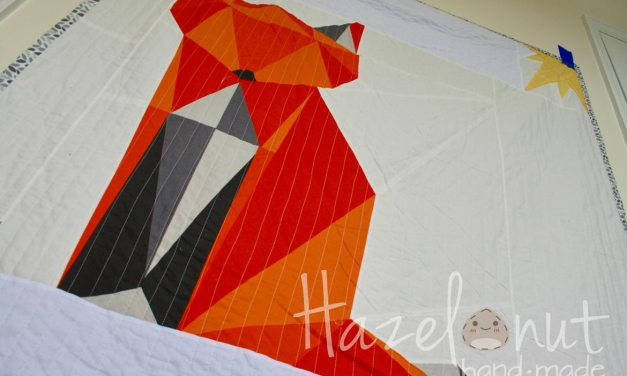 Paper Pieced Fox Quilt