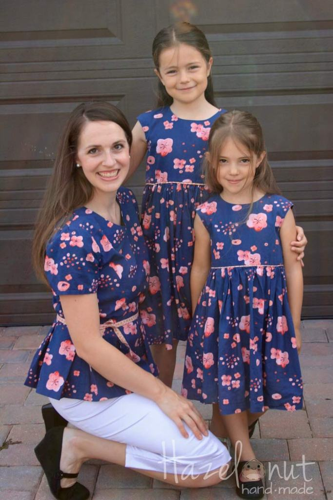 Cherry Blossom Easter Dresses with Hazelnut Handmade