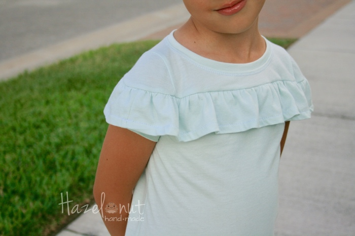 Skiff Tee by Jennuine Designs with Hazelnut Handmade
