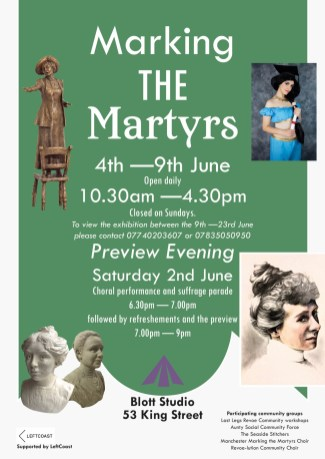 Marking the Martyrs exhibition - private view invitation