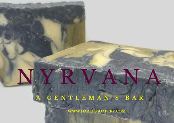 Nyrvanas mens soap Hazels Soapery