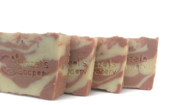 Wash your hands with soap - mint to be all natural peppermint soap Hazels Soapery