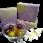 Leo's Harvest Muscadine Soap Bar