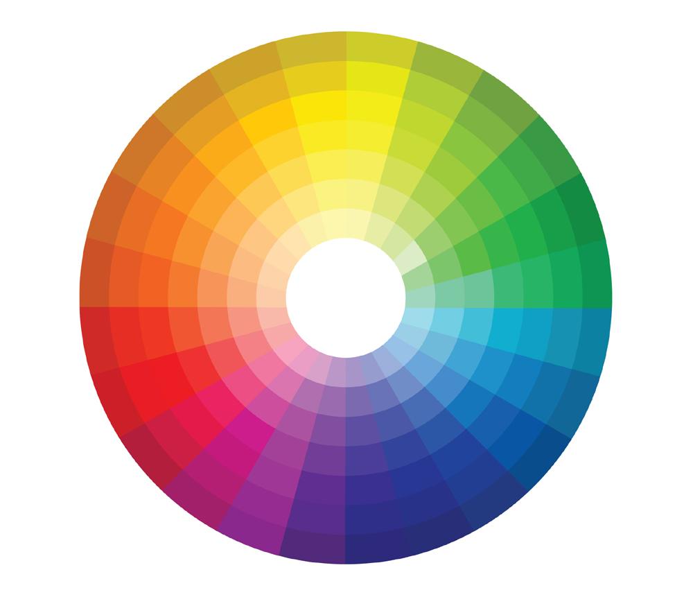 ruota cromatica sottotoni freddi caldi colori