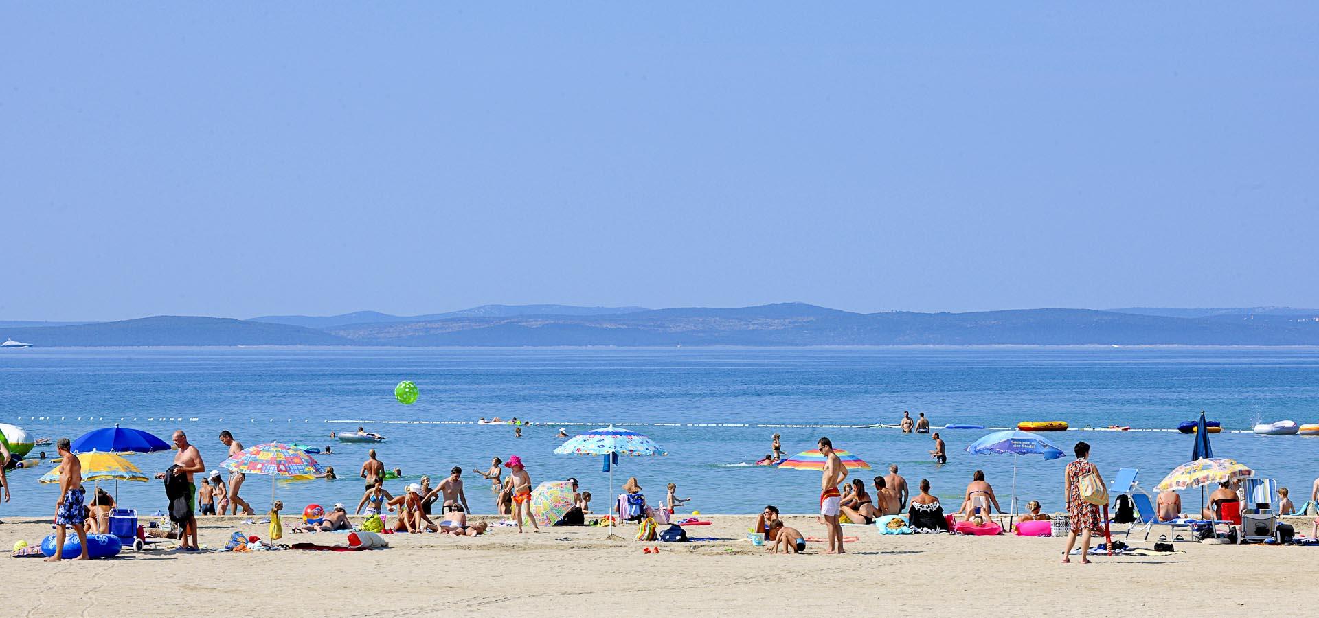 Croazia spiaggia Zaton