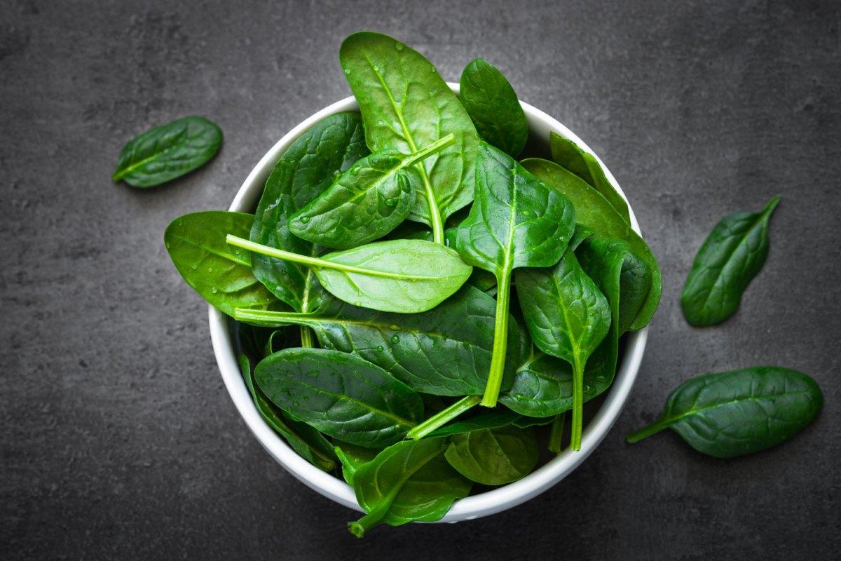 Gli spinaci: ortaggio benefico tra leggende metropolitane