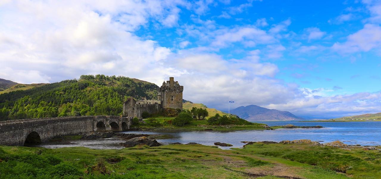 castelli europei - Castello di Eilean Donan