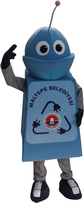Maltepe Belediyesi Robot Maskotu